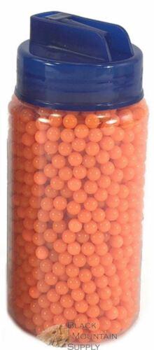 Airsoft Ammo 2000 Rounds 6mm .12g Orange Pellets In Flip Up Speed Load Bottle
