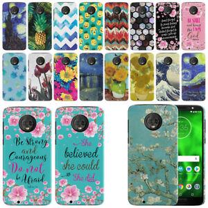 For Motorola Moto G6 5 7 Design Hard Protector Back Case Phone Cover Ebay