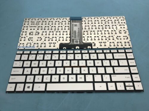 NEW For HP Pavilion x360 14-ba000 14-ba100 14t-ba000 English Keyboard Silver