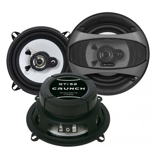 Crunch GTi52 13 CM 2 Way Coaxial Speaker 150 Watt Crunch Gti 52/1 Pair