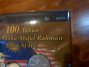 Malaysia-Tunku-Coin-Card-Low-Number-030