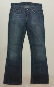 X 29 Women Mankind taglia used 25 For 7 Jeans Flynt Bootcut All effetto Zq71PwO