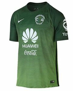 b95e8a468 Nike Club America Season 2016 - 2017 Third Soccer Jersey New Green ...