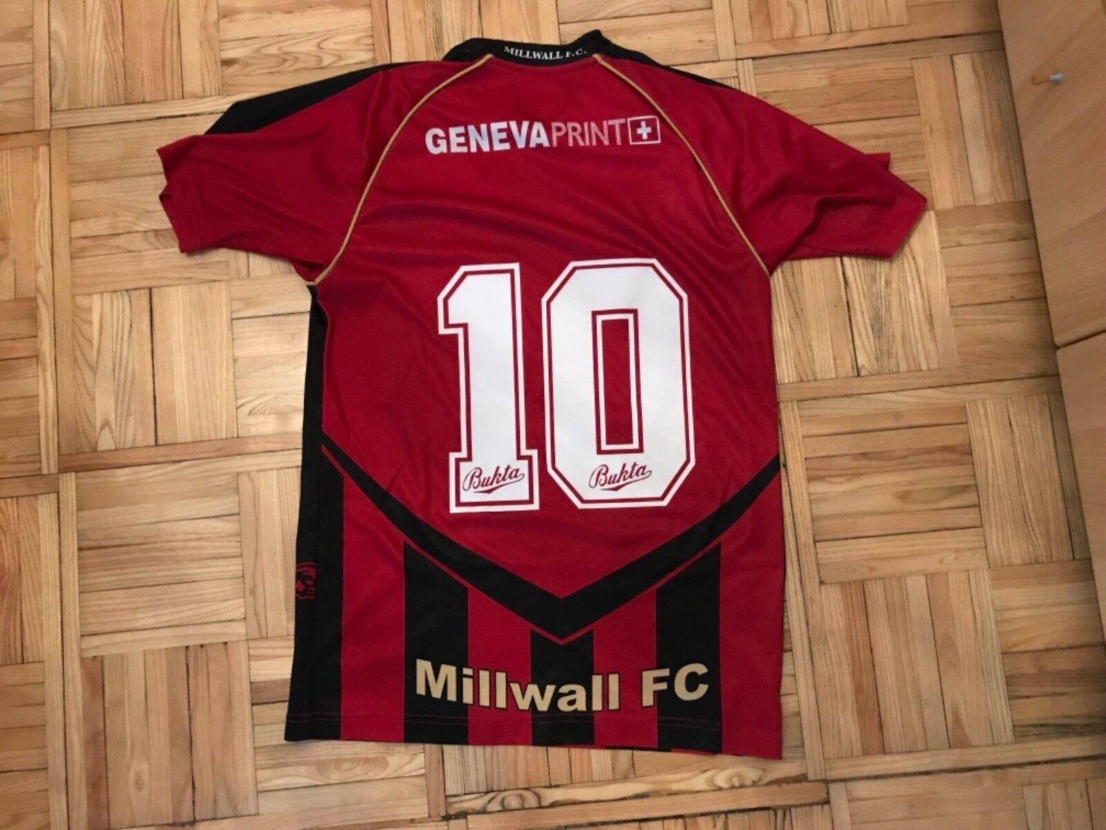 MILLWALL FC BUKTA S  10 SHIRT JERSEY TRIKOT MAILLOT MAGLIA