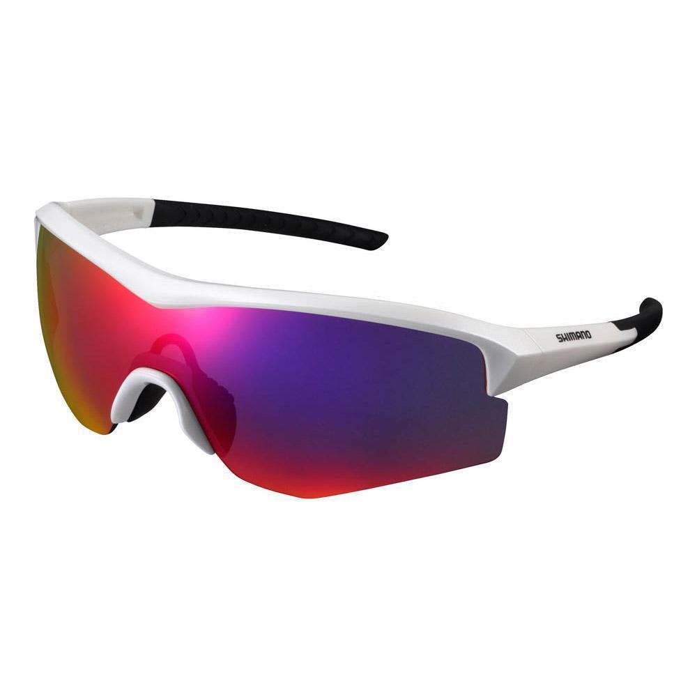 Shimano Eyewear Cycling - SPARK CE-SPRK1 One Piece Cycling Eyewear Sunglasses Metallic bianca 74f6e4
