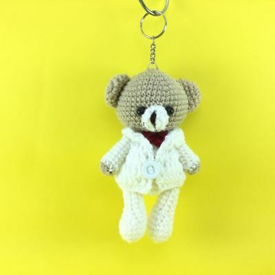 Amazon.com: DGWSER Handmade Amigurumi Stuffed Crochet Knit Doll ... | 400x400