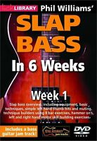 LICK LIBRARY Phil Williams SLAP BASS GUITAR in 6 WEEKS Learn to Play Funk DVD 1