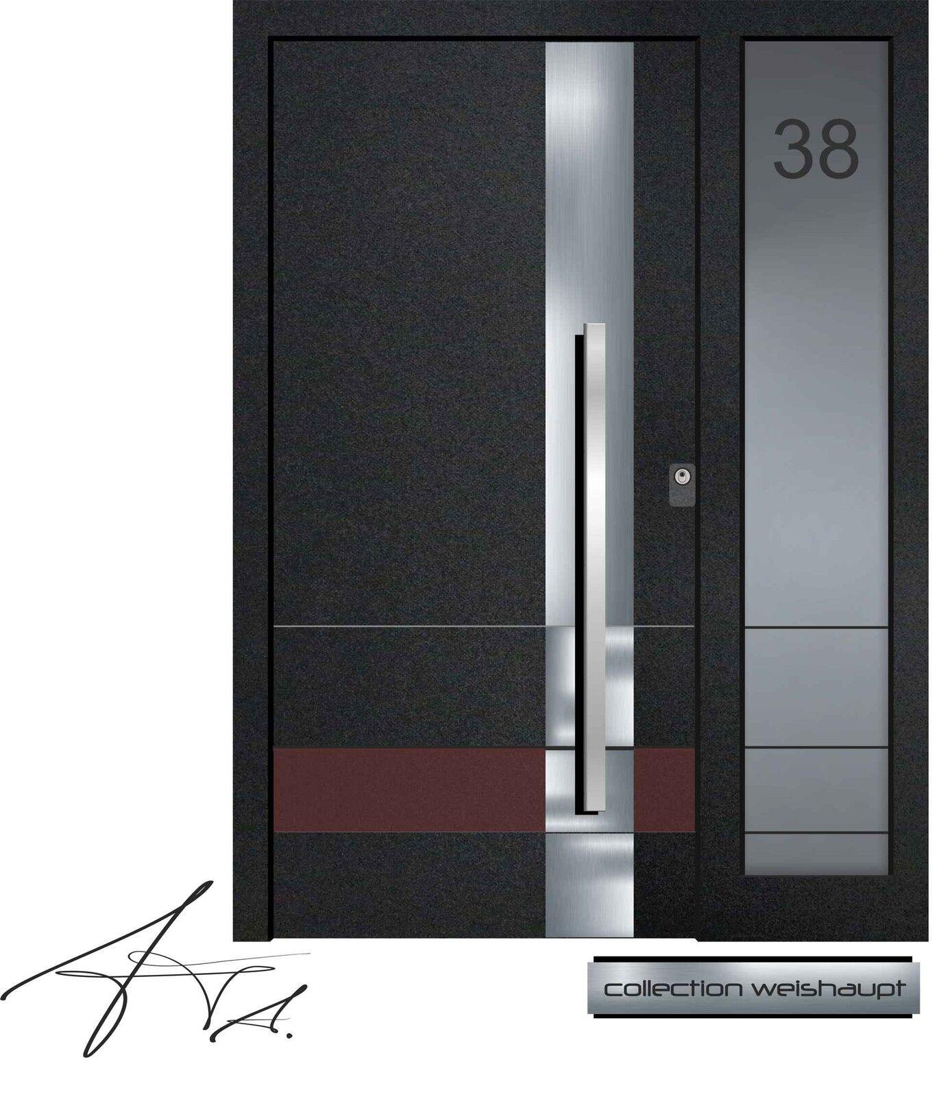 Aluminium Haustür Alu Haustüren nach Maß