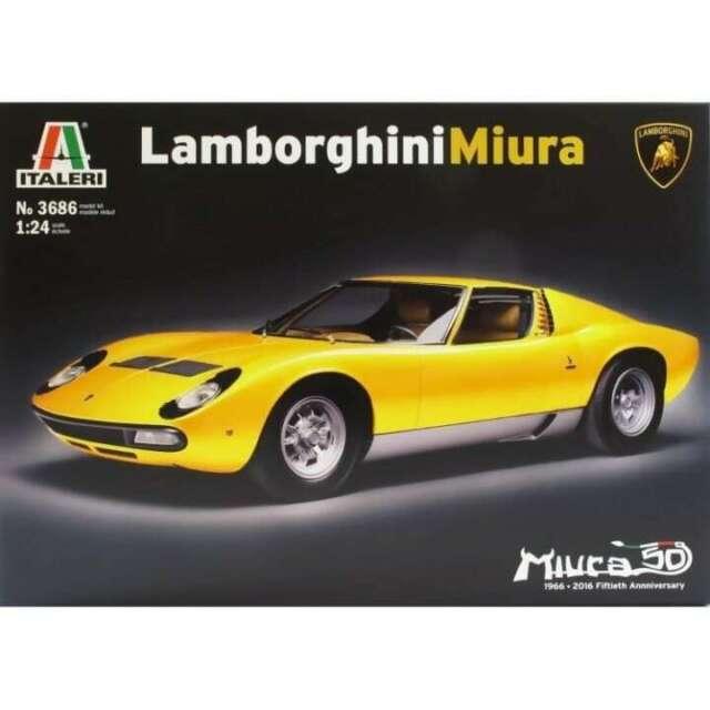 Italeri 1/24 Kit #3686 Lamborghini Miura
