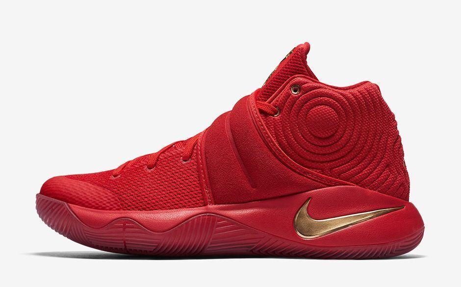 Nike kyrie d'oro 2 medaglia d'oro kyrie university red ltd dimensioni 13.838639-676 lebron campione pack 2ae39b