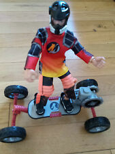 Vintage Action Man with Skateboard
