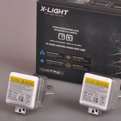 2 x D1S X-LIGHT XENON BULB 8000K For Mercedes Benz S350 S550 S600 S63 2010-2013