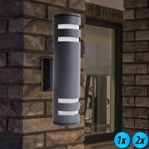 LED Lampada da parete Up Down facciate FARETTO RGB Telecomando Lampada Esterno Dimmerabile