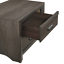 thumbnail 7 - NEW Gray 4PC Queen King Bedroom Set Modern Rustic Brown Furniture Bed/D/M/N