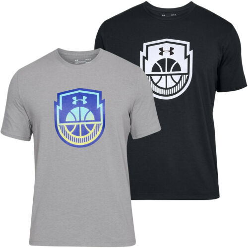 Under Armour Mens Basketball Icon SS Performance Sports Tee T Shirt