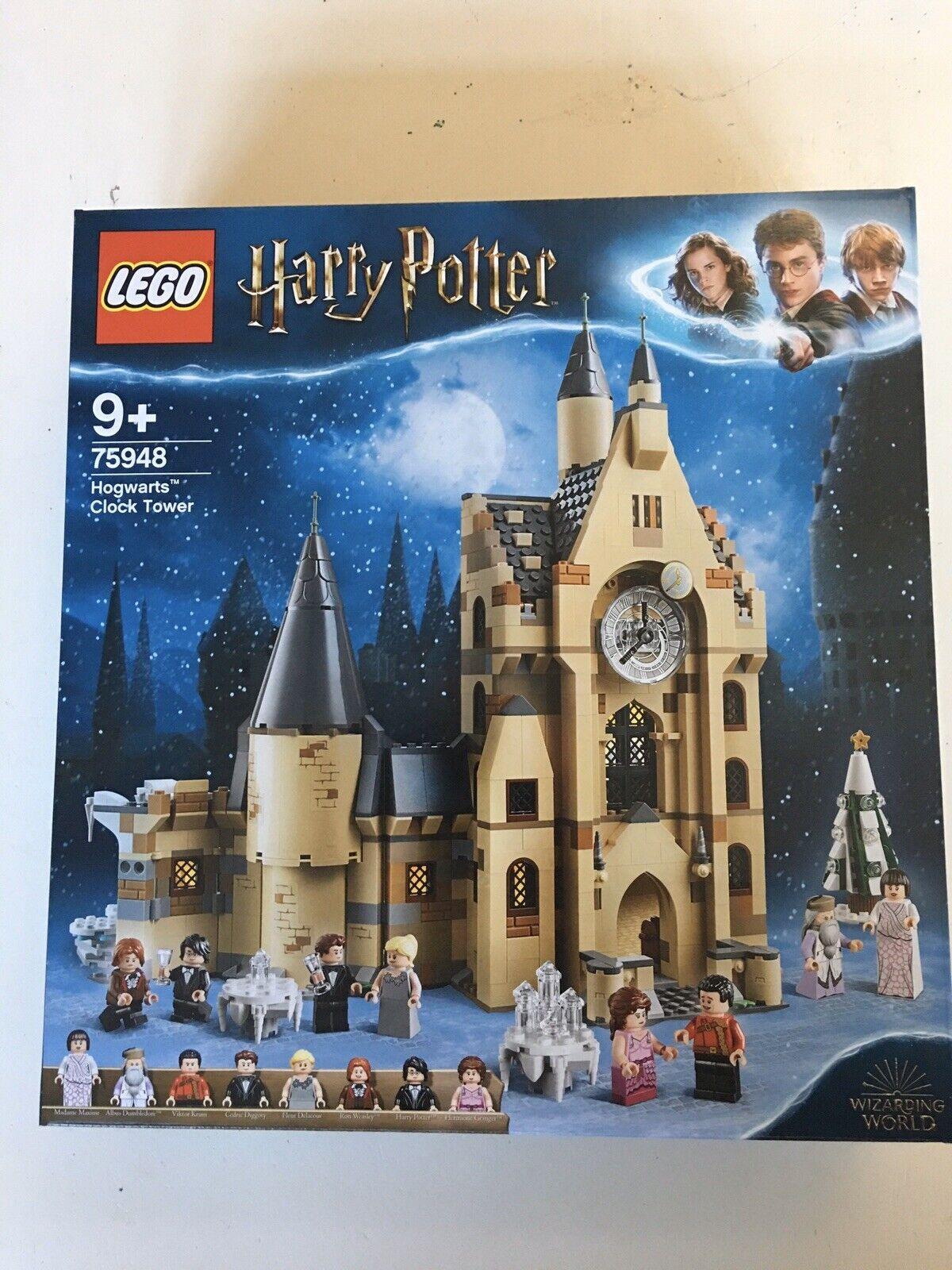 Nytt förseglat Lego Harry Potter 7948 Hogwkonsts klocktorn
