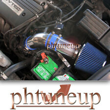 BLUE 2003-2006 HONDA ACCORD 2.4 2.4L (without MAF Sensor) AIR INTAKE KIT