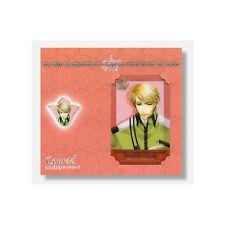 Kyou Kara Maoh Conrad Pin and Lami Card Set Import RARE