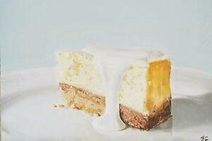 Cheesecake-J-Coates-Original-Still-Life-Oil-Painting