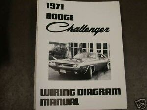image is loading 1971-dodge-challenger-wiring-diagram-manual