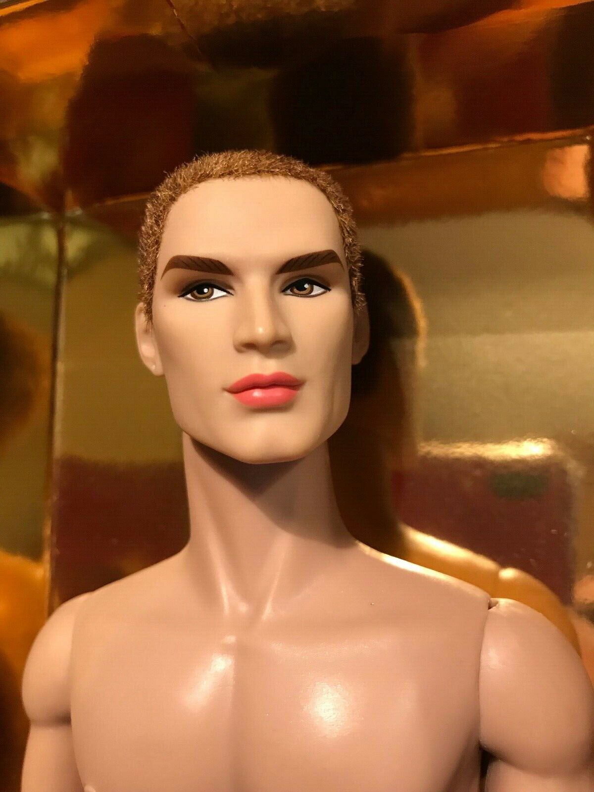 INDUSTRY MALE DOLL FROM THE LUXE LIFE CONV. 2018 BELLAMY Blau + AMPLIFIED FASHIO