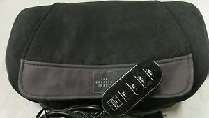 The Sharper Image Msg P110 Shiatsu Massage Cushion Pillow With Heat