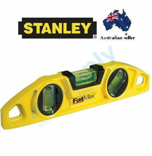 Stanley Fatmax Torpedo Level 10inc - 25cm 0-43-603