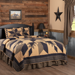 VHC Dakota Star Bedding Set Quilt & Sham California King, King, Queen Twin