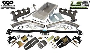"""64-72 Chevelle GTO  2 1//2/"""" Dual Exhaust System Tail Pipe Hanger Muffler Set Kit"""