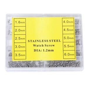 1X-1000-Stueck-Edelstahl-Brillen-Uhr-Reparatur-Schraube-Ersatz-Kit-Set-R1D4