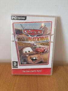 Cars-Mater-National-Championship-PC-DVD-ROM-NEU-amp-VERSIEGELT-GRATIS-Schnell-Versand