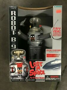 Lost-In-Space-B-9-Robot-Action-Figure-10-034-NIB-NOS-Vintage-1997-Original-Sci-Fi