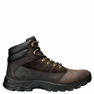 NEW  Men's Timberland 9810R  Rangeley  Mid Leather Brown Boots