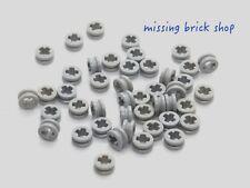 4211573 Brick 32123 LEGO NEW Light Bluish Grey Half Bushing 10x