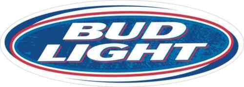"""Bud Light Vinyl Sticker Decal 18/"""" full color"""