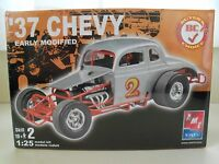 Amt / Ertl - (1937) '37 Chevy Early Modified Race Car - Model Kit (sealed)