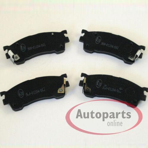 Mazda Premacy CP Bremsscheiben Bremsen Bremsbeläge für vorne die Vorderachse