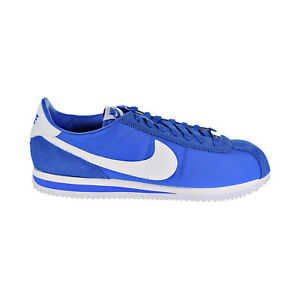 new styles bce02 a7821 Nike Cortez Basic Nylon Mens Shoes Signal Blue/White 819720 ...