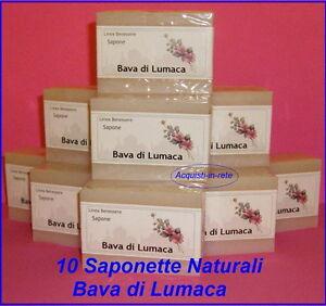 BAVA-DI-LUMACA-10-saponi-naturali-ACNE-PSORIASI-DERMATITI-MADE-IN-ITALY