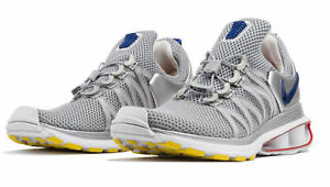 huge selection of e2d25 694d7 Image is loading Nike-Shox-Gravity-Mens-Running-Training-Shoe-Metallic-