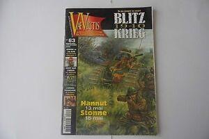 Vae-Victis-63-Blitzkrieg-1940-Ungelocht-Spiel-Kriegsspiele-Magazin