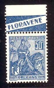 TIMBRE-PUB-FLORAVENE-Jeanne-d-039-ARC-N-257-carnet-TTB