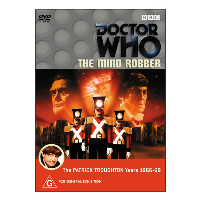 Doctor Who: The Mind Robber  DVD Brand New Region 4  Patrick Troughton