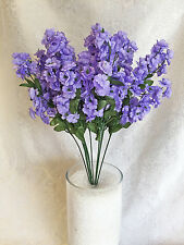 12 Baby's Breath ~ LAVENDER LILAC ~ Gypsophila Silk Wedding Flowers Centerpieces