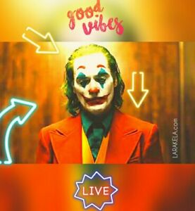 Joker-the-best-joaquin-phoenix-GOOD-VIBES-limited-very-rare-canvas-new-no-dvd