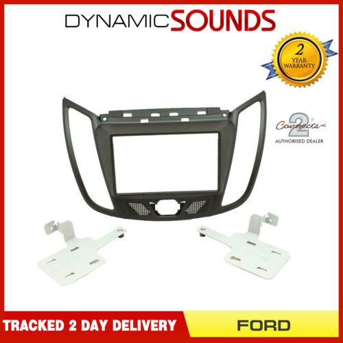 CT23FD41 Double Din Car Stereo Fascia Panel Adaptor Matt Black For FORD Kuga
