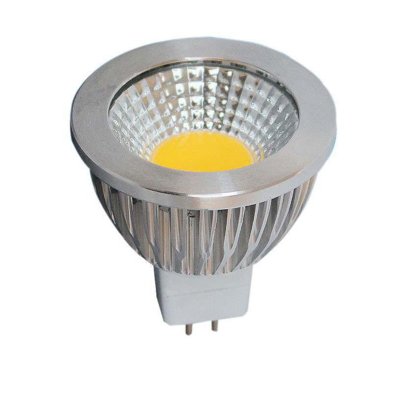 10x MR16 GU 5,3 LED Lampe 5Watt Warmweiß Neutralweiß Abstrahlwinkel 120° COB
