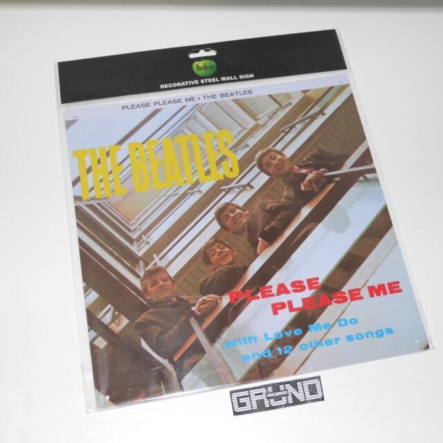 Blechschild (Metal Sign): Beatles – Please Please Me, NEU (A10/4)