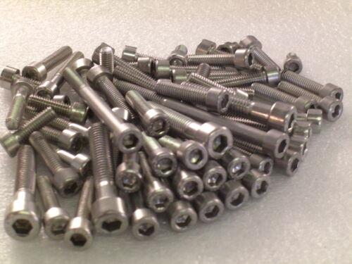 Suzuki T500 GT500 Engine 27pc Stainless Allen Bolts Socket Capscrews Kit 1968-77
