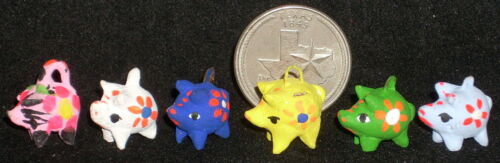 2 Piggy Bank 1:12 C204 Mexican Folk Art Vary Child 1:12 Miniature Mercado 1
